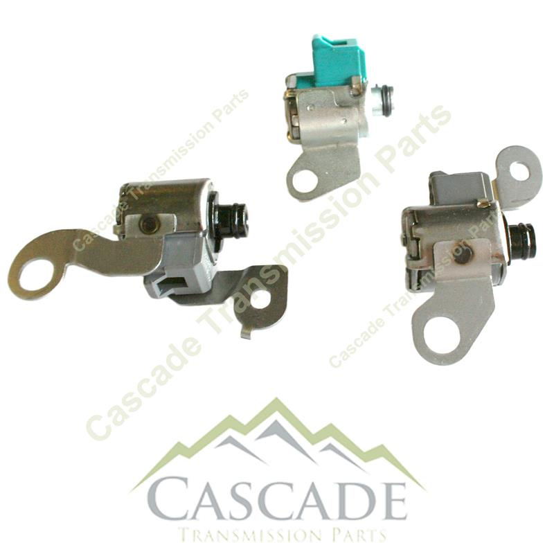 pc transmission solenoid service set toyota truck torque converter clutch lock up solenoid tcc