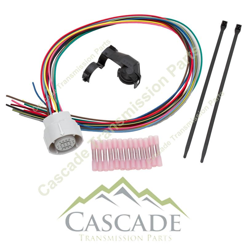 4l80e external wire harness upgrade repair kit rh cascadetransmissionparts com