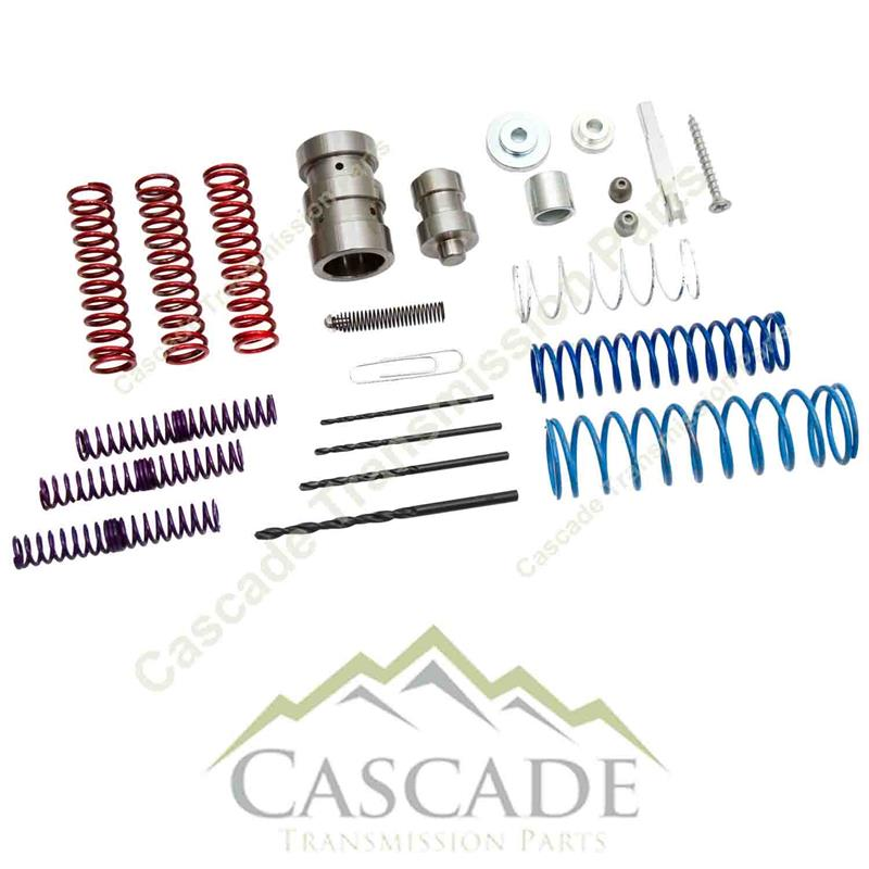 E4OD / 4R100 Valve Body Shift Correction Kit With Pump Boost Valve