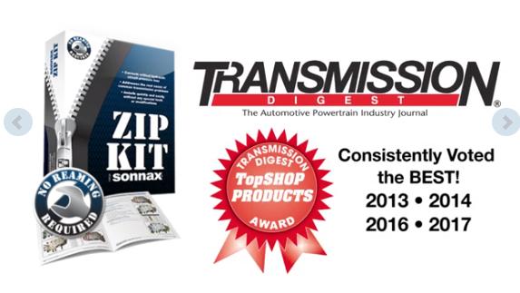 SONNAX ZIP KIT - PRESSURE & SHIFT REPAIR / UPDATED PACKAGE 6L45E