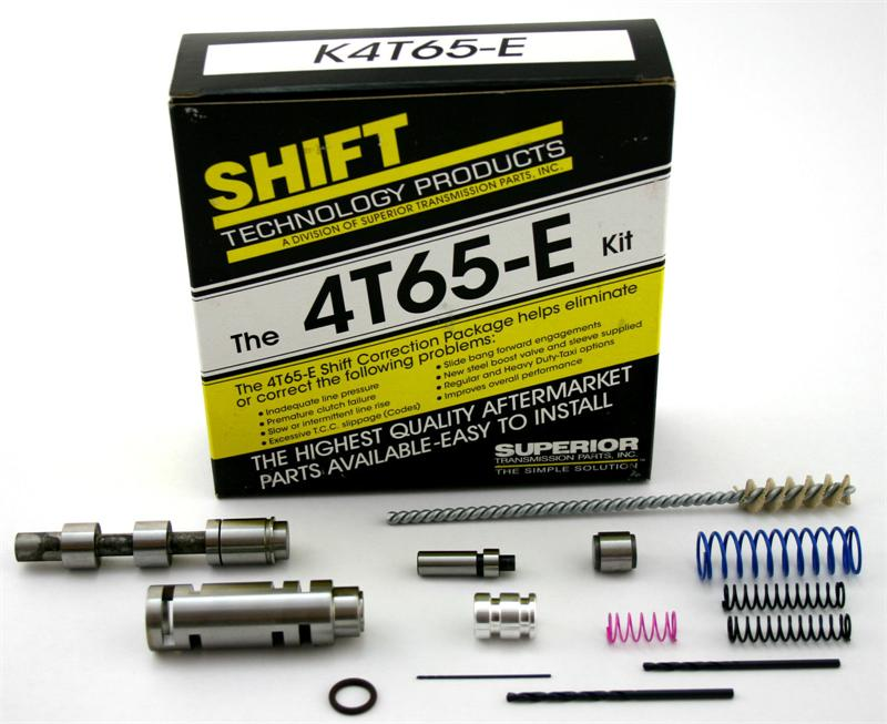 Gm / Volvo 4T65E Shift Correction Kit with the Valves You Need !